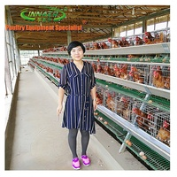 chicken battery cage for poultry farm 3-6 layers