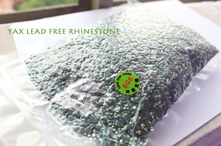 1211W Crystal AB SS16 4mm 200gross Factory Hotfix stone, Lead Free Korean Rhinestone For hotfix stones design