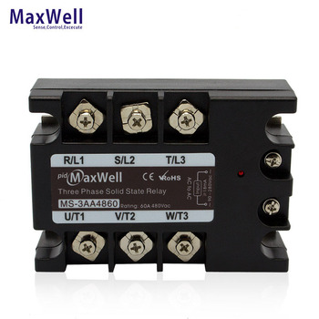 Maxwell MS-3AA4860 60amps ac three phase ssr