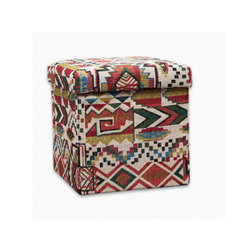 2019 Hot Selling Special Square  Convertible Storage Ottoman Stool