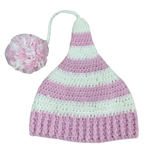 Female Knitted Beanie Hat Child'S Knitted Baby Hat
