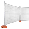 2.1x2.4m removable backyard temporary building site security fencing