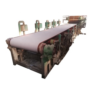 High quality toilet tissue manufacturing machine small wheat straw paper a4 making machinery from china