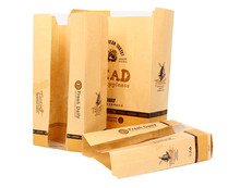 New Food Delivery bread bag with Window Bakery Packaging Bread Bags