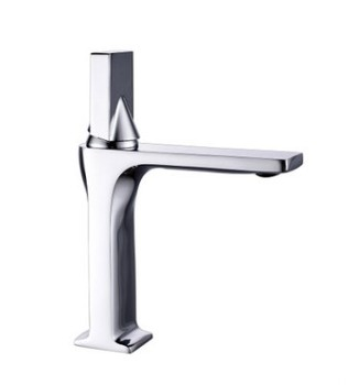 Wenzhou Feenice factory faucet gold supplier brass single hole wash basin mixer