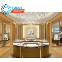 Latest Jewellery Shop Showroom Furniture Interior Design Jewelry Store Showcase Display