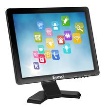 Eyoyo 15 Inch Touch screen <strong>Monitor</strong> HD-MI / VGA LED <strong>Monitor</strong> 4:3 Display 1024*768 Built-in Speaker for POS System Industrial