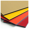 PVDF Aluminum Single Solid Panel PE ACP Sheet, External Aluminum Decoration Sheet Alucobond Panel