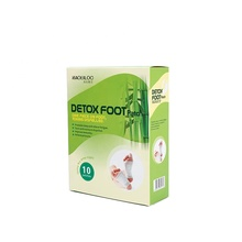 CE approved disposable Kinoki biomagick kenrico detox foot pads for toxins remove
