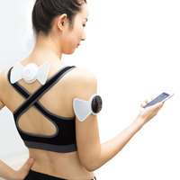 Wholesale Mini Neck And Back Wireless Muscle Ems Tens Pain Relief Device Electric Stimulator Digital Therapy Full Body Massager