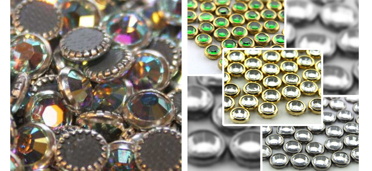 Y0913 Hot Fix strass hotfix rhinestone rimmed,SS6 SS10 SS20 SS8 china factory wholesale rimmed rhinestone
