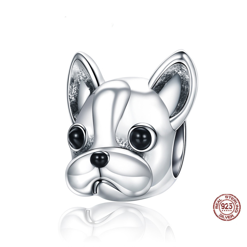 New Arrival Jewelry Pendant 925 Sterling Silver Dog <strong>Charms</strong>