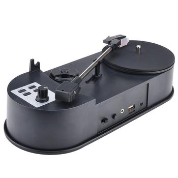 Turntable Player and Converter Save Vinyl music records to TF Card or USB Flash Drive Standalone work ezcap613P