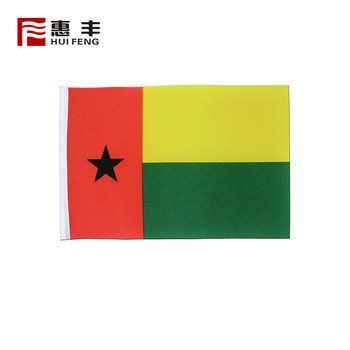 the national 110g polyester Guinea-Bissau flag , country flags sale