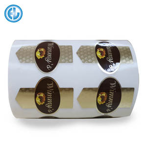 Factory Price Printing Self Adhesive Bottle Food Packaging Roll Label Custom Sticker Manufacturer In China