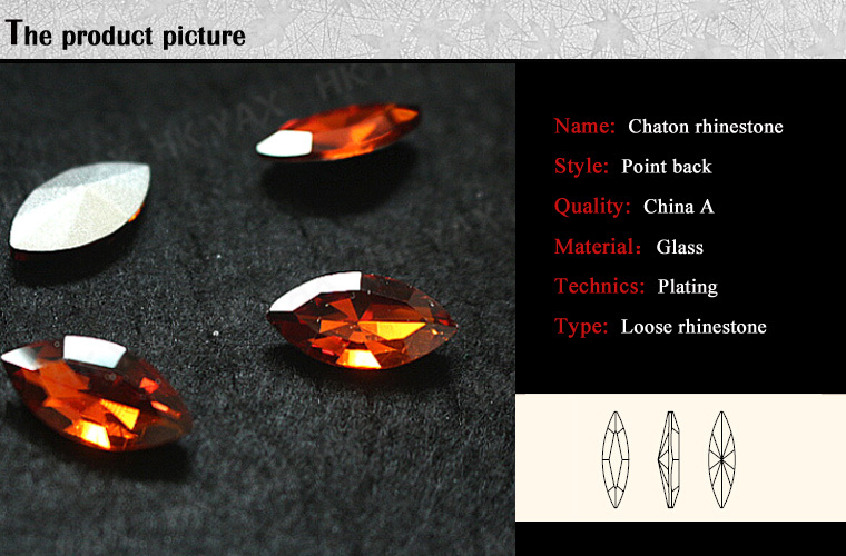 LanLee08060--- high quality rhinestone point back,rhinestone pointback,rhinestone point back