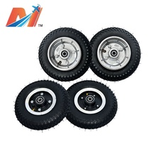 Maytech professional off road skateboard wheels electric mountainboard 4pcs/set front and back wheel 8inch wheels