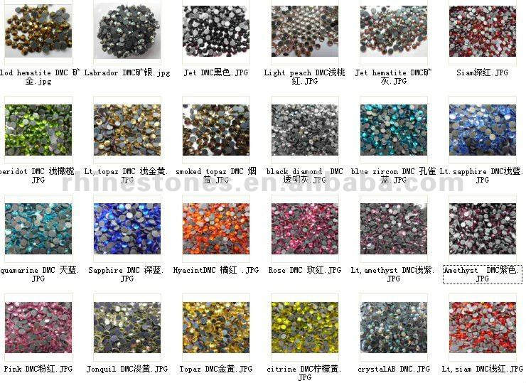 Y1015 china hight quality iron-on MC Beads, china factory wholesale fashion iron-on DMC Beads for clothing