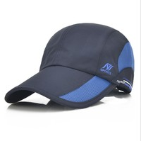 High quality Unisex Mesh Baseball Caps Outdoors Sports Quick Drying Hat Adjustable Baseball Cap