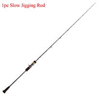 High Modulus Carbon 1pc Fishing slow jigging rod