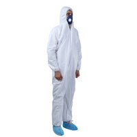 Safety Protective Clothing Food Industry Painting Type 5 6 Disposable Microporous Coverall