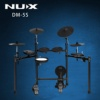 DM-5S Hot Sale professional NUX electronic Drum Set With Stand Cymbal Musical Instruments