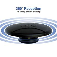 360degree Omni Directional Amplified Magnetic UFO Digital HDTV Antenna for Caravan RV Truck Boat (4K Ultra-HD, ATSC 3.0 Ready)