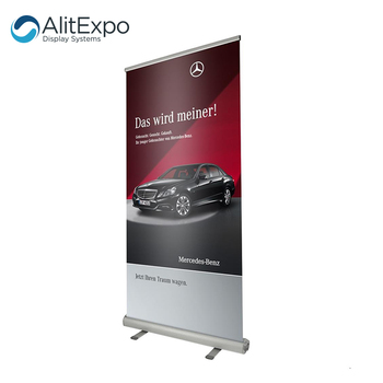 Cheap printed outdoor advertising custom roll up stand banner