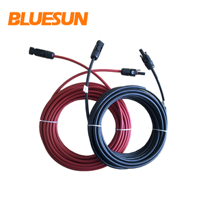 Bluesun 4mm2 6mm2 10mm2 flexible copper cable rv-k 0.6 buy cable for solar panel