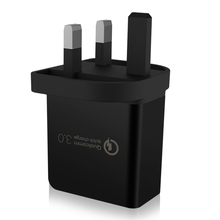 UK plug New product ideas 2019 FCP SCP VOOC OPPO Quick Charge 3.0 USB Wall Charger single Port QC3.0 Travel Charger