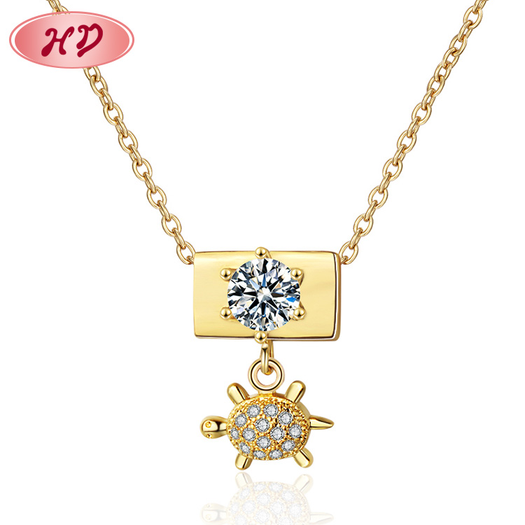 best mother's day gifts fashion jewelry <strong>1</strong> gram 14k jewelry brazilian gold necklace