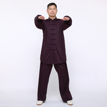 Chinese Traditional Tai Chi Wear Kimono Kung Fu Suit Uniforms For Men in Winter