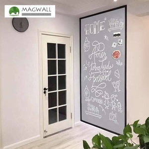 Magwall light gray writing PVC blackboard magnetic drawing board for kids