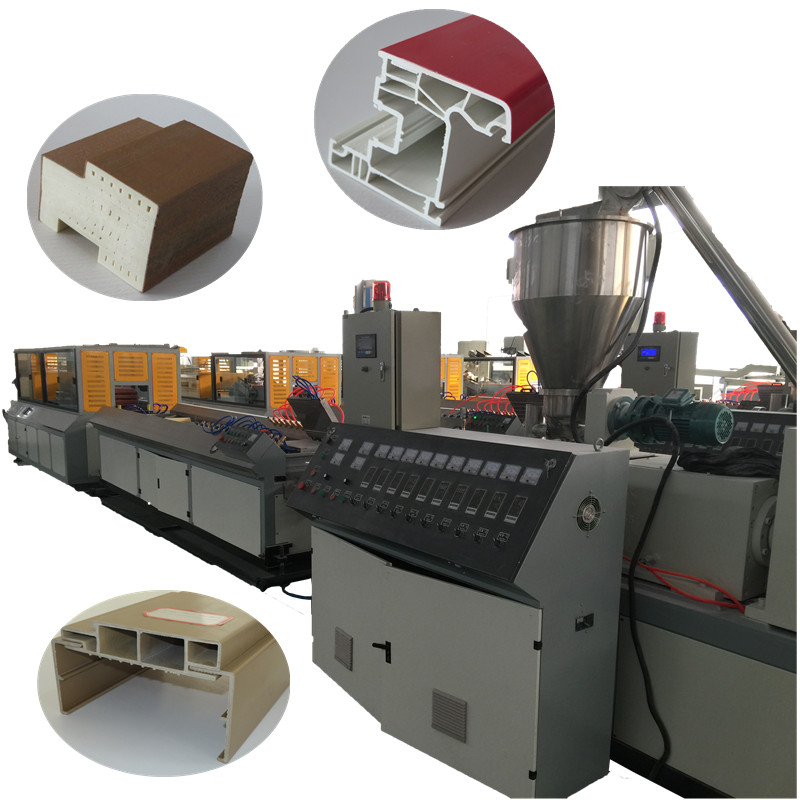 PVC/UPVC WPC plastic window door profile making machine production <strong>line</strong>