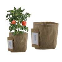 Wholesale garden grow bags eco friendly plant jute bag