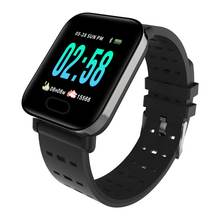 A6 <strong>Smart</strong> <strong>Watch</strong> with heart rate monitor pedometer waterproof Fitness Activity Tracker Bluetooth sport <strong>watch</strong>
