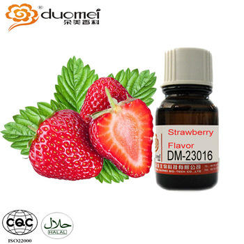 Bright Sweet Strawberry Dairy Beverage Food Flavor
