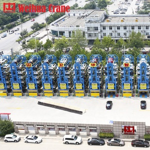 Weihua Motor Drive Electric 16 Cars Mini Rotary/carrousel System 2 Level Mechanical Vehicle Garage Car Lift For Service Parking