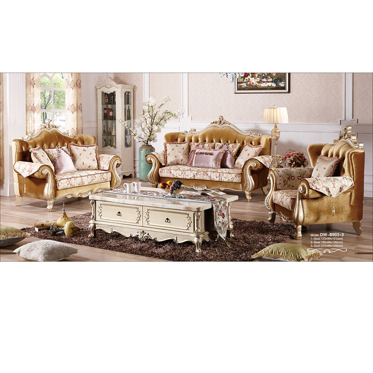 Luxury Royal Style Solid Wood Sofas Chesterfield Fabric Sofa   Buy  Chesterfied Style Fabric Solid Wood Sofa,Newest Chesterfied Living Room  Fabric ...
