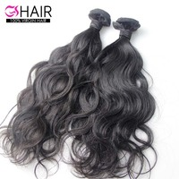 Whole sale vigin hair vendor 100% unprocessed virgin brazilian hair #1b natural wave virgin hair wefts