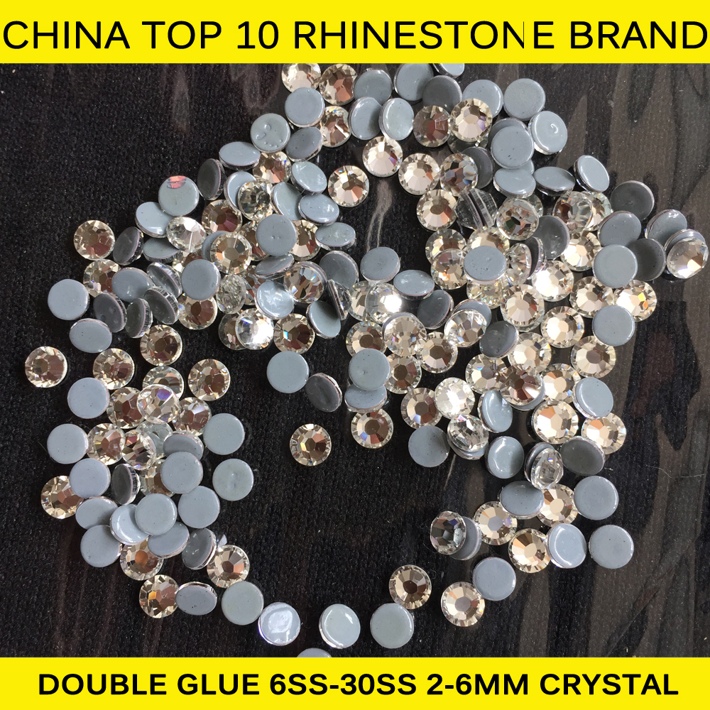 0828N 2mm/3mm/4mm/5mm /6mm Iron on Rhinestones Hotfix Jet Hematite Strass Cristal for Bag SS6/SS10/SS16/SS20/SS30