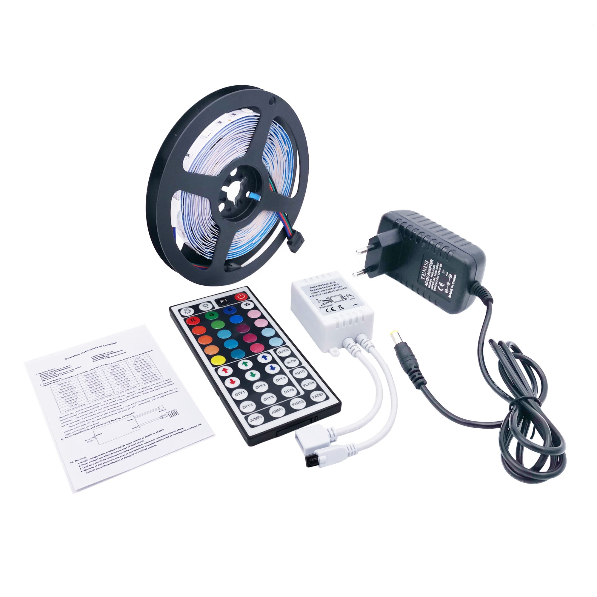 150leds 10mm PCB SMD 5050 led strip <strong>rgb</strong> 5m waterproof LED strip light