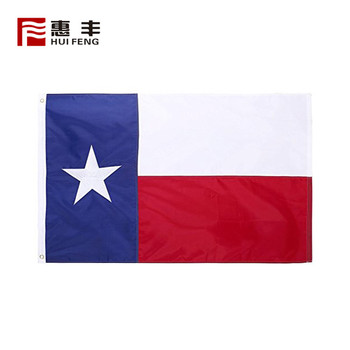3x5 custom Texas Flag polyester , cheap custom made Texas flags