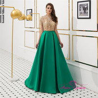 2019 new style banquet evening dress sexy v-neck prom dress