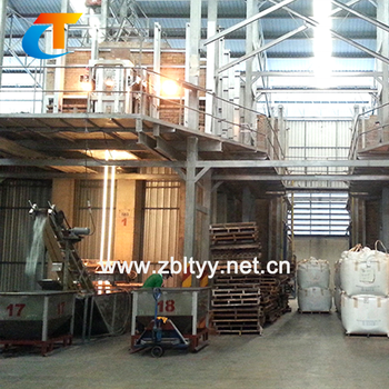 Sodium Silicate And Glass Frit Production Furnace Plant