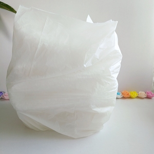 100% biodegradable white environment-friendly disposable corn starch garbage bag