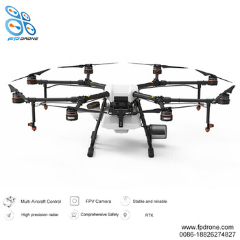 Agricultural fertilizer applicator uav mg1p helicopter agricultural spraying drone plant fertilizing machinery