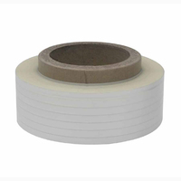 tray products (big spool) polyester(PET) tape with glue on the back (intermittent) cable raw material