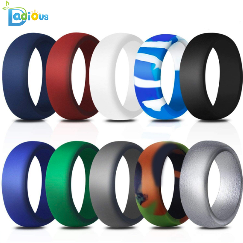 Mens silicone wedding band womens thunderfit silicone <strong>ring</strong>