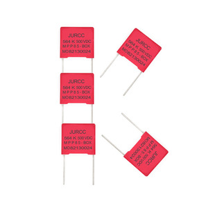 Jurcc 564k 0.56uf 560nf metallized polypropylene film capacitor for air conditioning 500vdc
